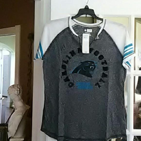 a6cc7f49 nfl team apparel Tops   Womens Nfl Carolina Panthers Shirt   Poshmark